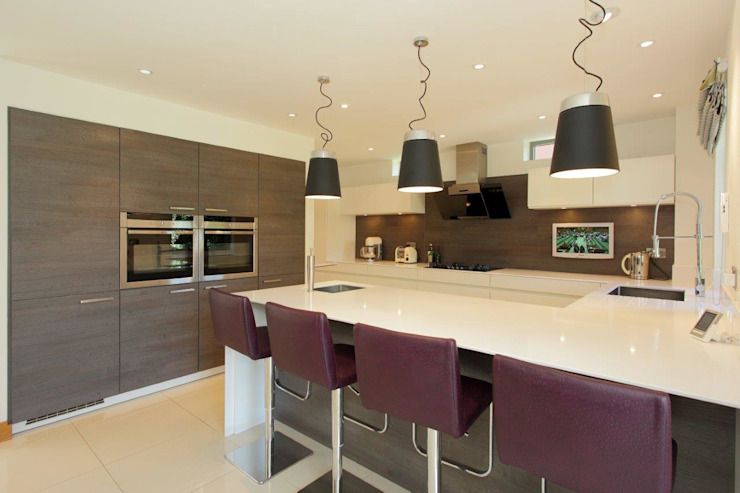 Refurbishment project West Sussex Minimalist kitchen by At No 19 Minimalist