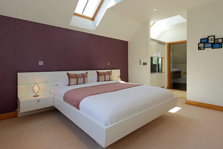 Refurbishment project West Sussex Minimalist bedroom by At No 19 Minimalist
