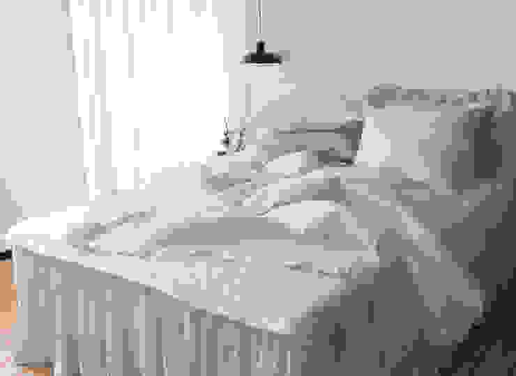 Спальня в рустикальном стиле от 메종드룸룸 Рустикальный