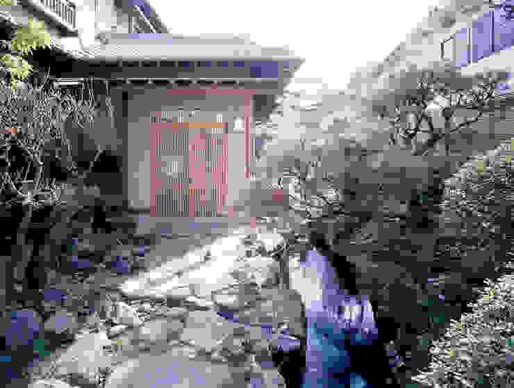 鳴滝の家: 鶴巻デザイン室が手掛けた家です。,和風