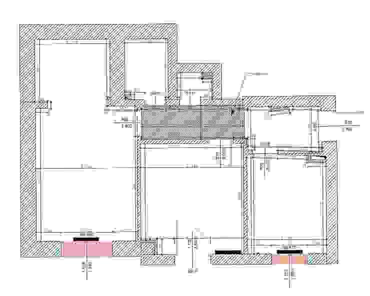 План квартиры до перепланировки:  в современный. Автор – Архитектурно-дизайнерское бюро Натальи Медведевой 'APRIORI design', Модерн