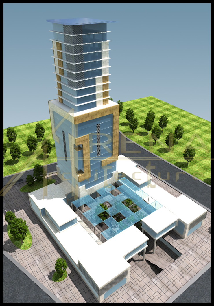 ARENA MİMARLIK Modern office buildings
