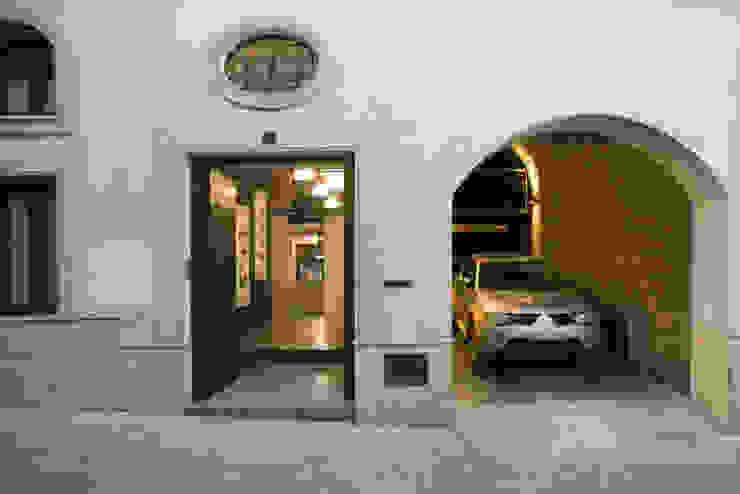 Fachada pxq arquitectos Casas de estilo ecléctico