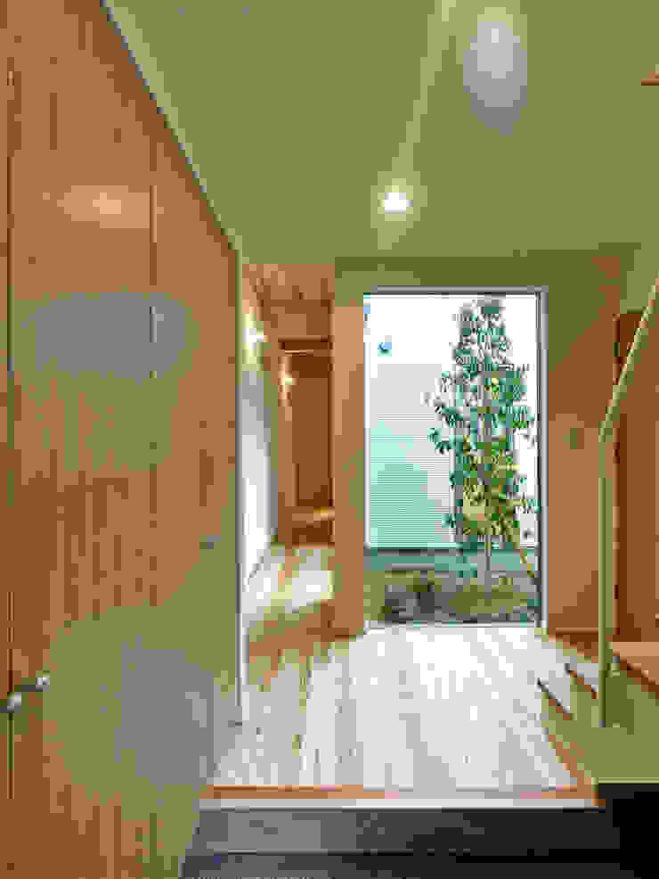 上町の家 鶴巻デザイン室 モダンな庭