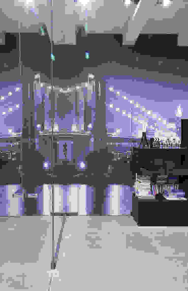 фотообои с изображением Бруклинского моста от Архитектурно-дизайнерское бюро Натальи Медведевой 'APRIORI design' Минимализм