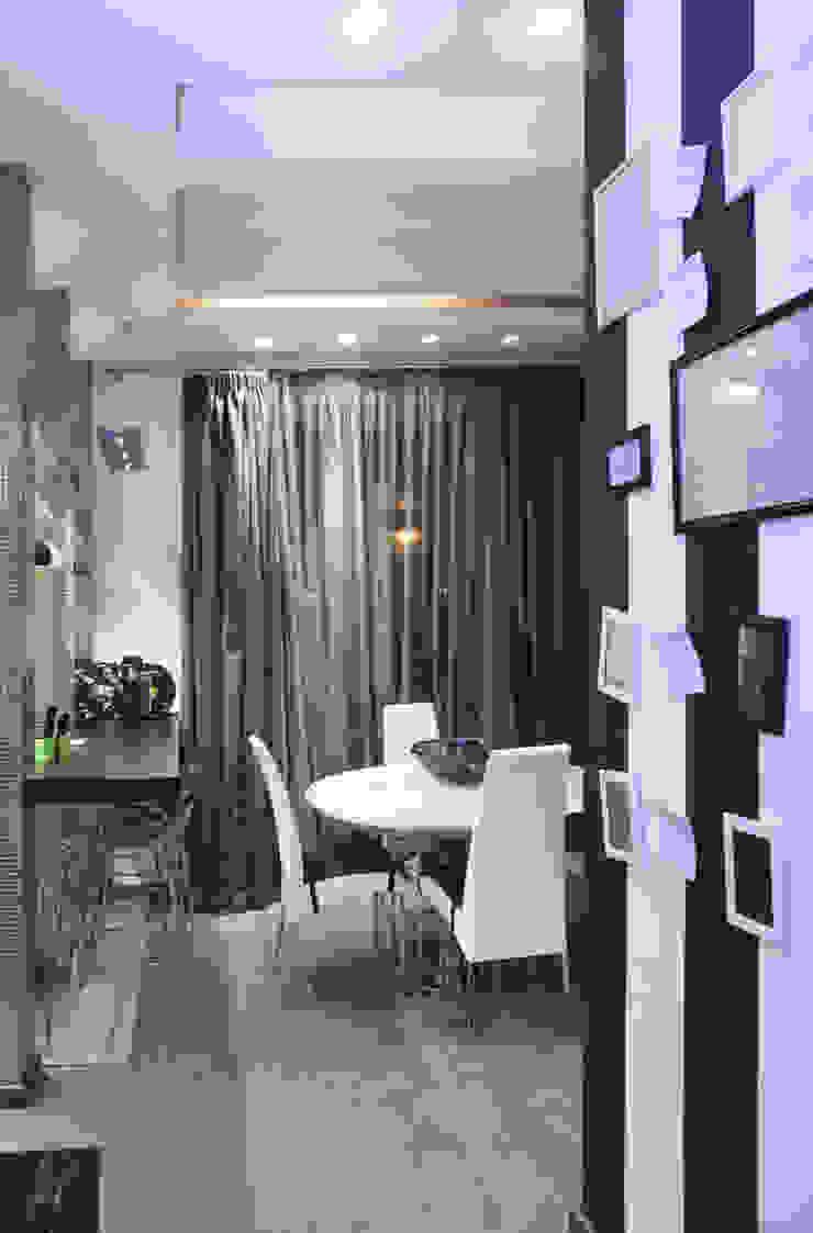 зона кухни от Архитектурно-дизайнерское бюро Натальи Медведевой 'APRIORI design' Минимализм