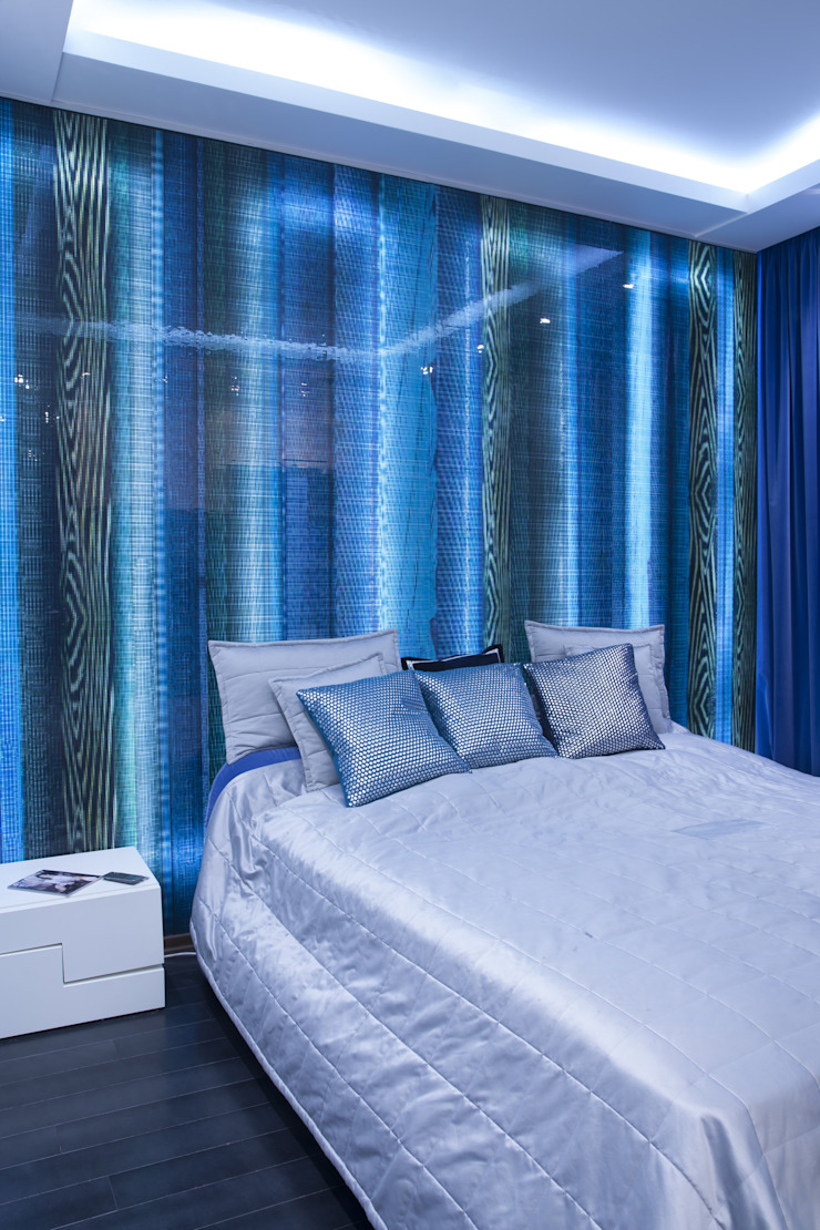 спальня от Архитектурно-дизайнерское бюро Натальи Медведевой 'APRIORI design' Минимализм