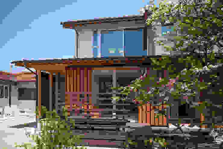 南外観: 小野育代建築設計事務所が手掛けた家です。,オリジナル