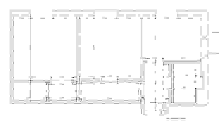 План до перепланировки от Архитектурно-дизайнерское бюро Натальи Медведевой 'APRIORI design' Минимализм