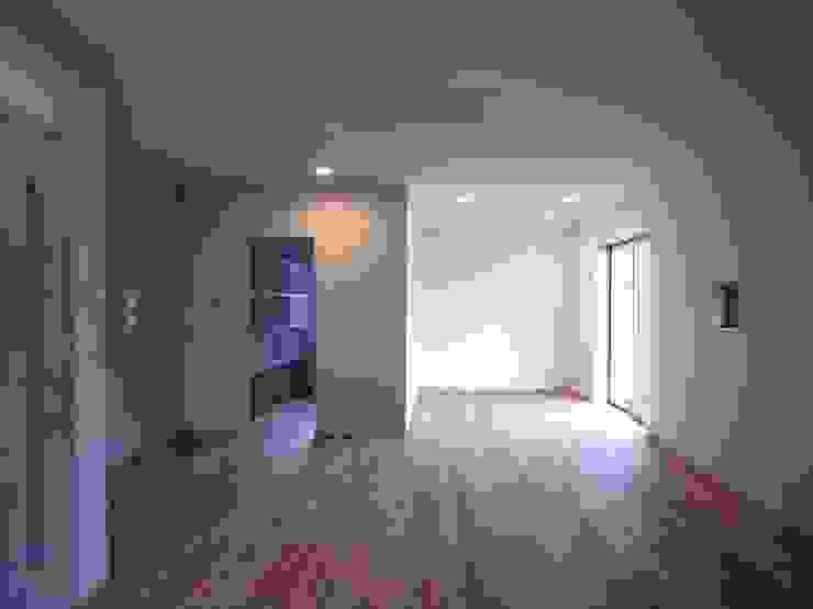 OPEN AIR HOUSE オリジナルスタイルの 寝室 の 徳永建築事務所 オリジナル