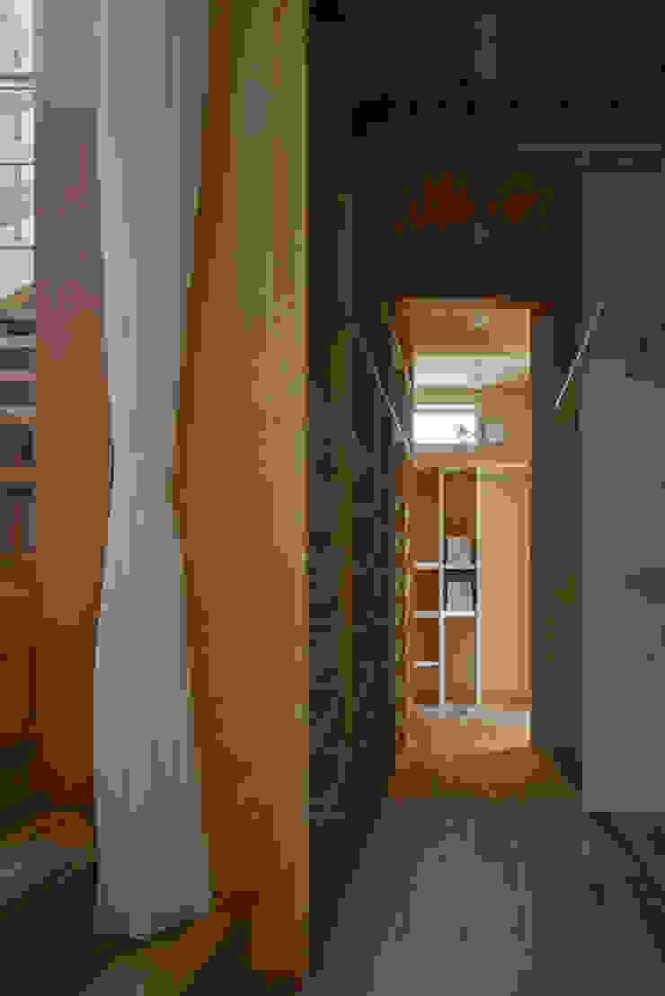 ウォークインクロゼット オリジナルデザインの ドレッシングルーム の 小野育代建築設計事務所 オリジナル