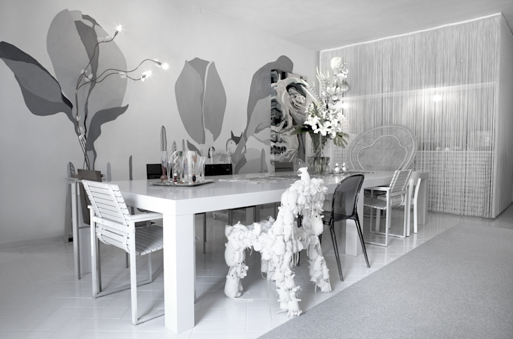 Modern Dining Room by LDA.iMdA architetti associati Modern