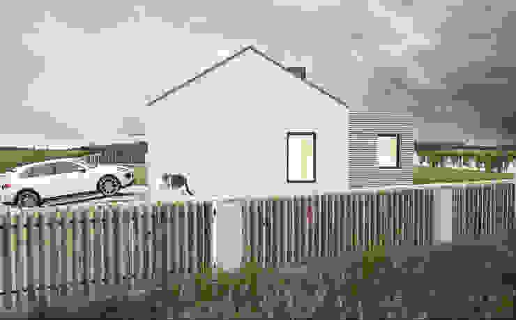 Modern houses by Kunkiewicz Architekci Modern