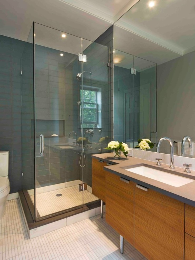 Modern Bathroom by Tbeks Modern