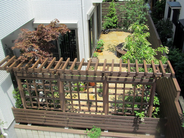 Eclectic style garden by 空間工房 欅 Eclectic