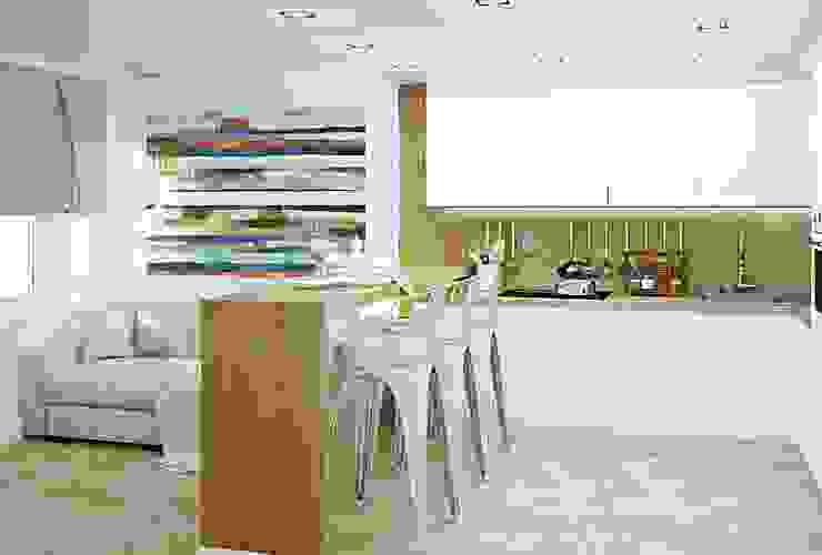Лофт для молодой семьи Кухня в стиле лофт от Кочуров Сергей Лофт
