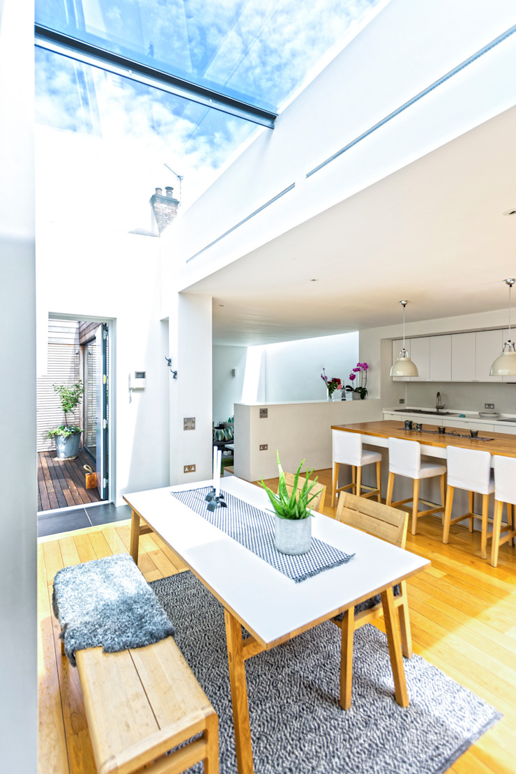 Courtyard House – East Dulwich Modern Mutfak Designcubed Modern