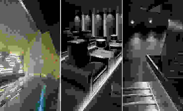 Villa im Engadin Moderner Multimedia-Raum von steigerconcept ag Modern