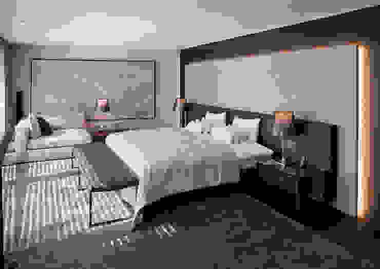 Villa im Engadin Moderne Schlafzimmer von steigerconcept ag Modern