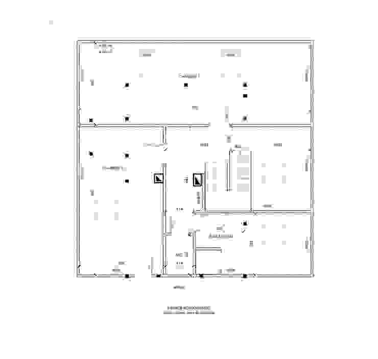 Plan du projet par J'ose - Architecte d'intérieur Moderne