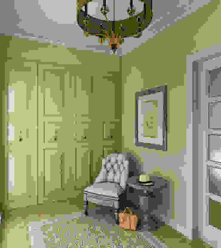 прихожая в частном доме Коридор, прихожая и лестница в стиле кантри от Eclectic DesignStudio Кантри
