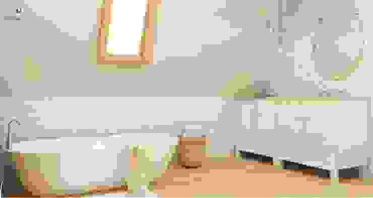 łazienka rustykalna / vintage Rustykalna łazienka od Artenova Design Rustykalny