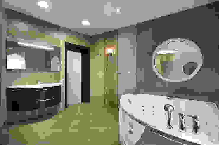 """<q class=""""-first"""">Узигонты</q> Ванная комната в эклектичном стиле от дизайн-группа 'Лестница' Эклектичный"""