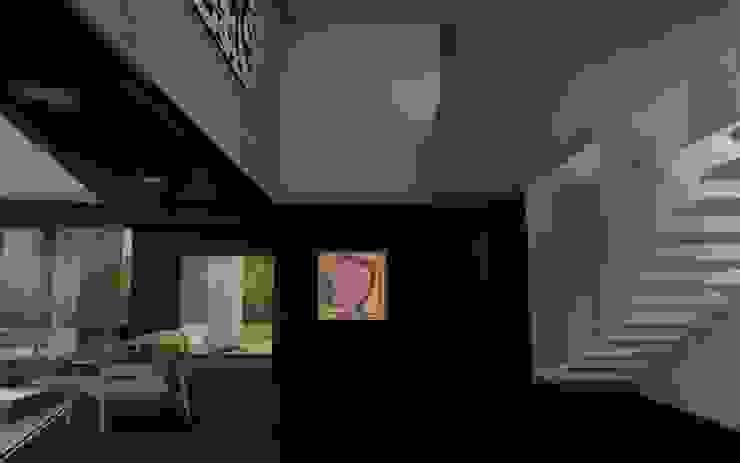 CASA TTTBN Najmias Oficina de Arquitectura [NOA] Pasillos, vestíbulos y escaleras minimalistas