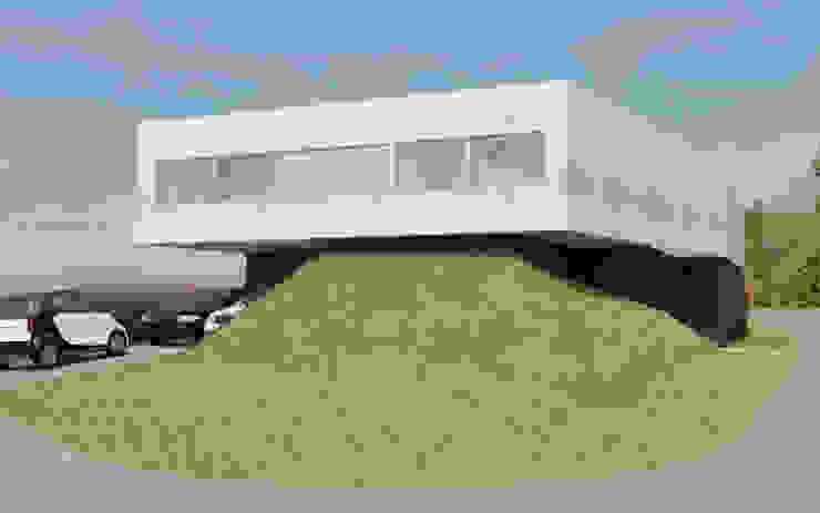 CASA TTTBN Casas minimalistas de Najmias Oficina de Arquitectura [NOA] Minimalista