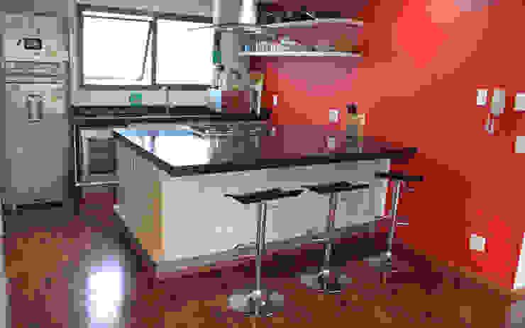 Cocinas de estilo  por Najmias Oficina de Arquitectura [NOA], Minimalista