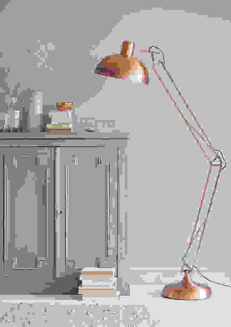 Copper Collection Salas de estilo ecléctico de rigby & mac Ecléctico