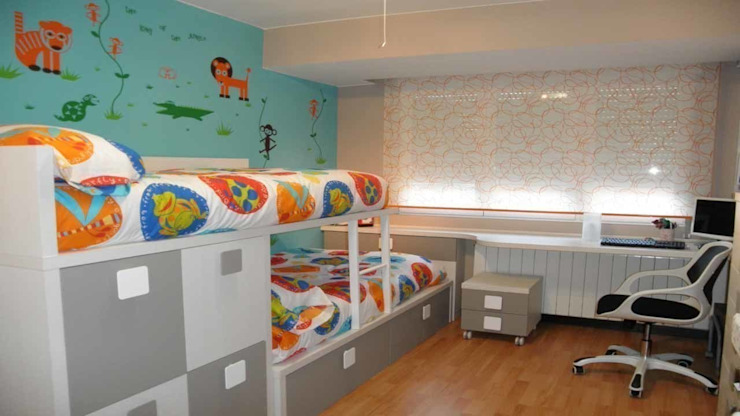 Modern Kid's Room by LA ALCOBA Modern