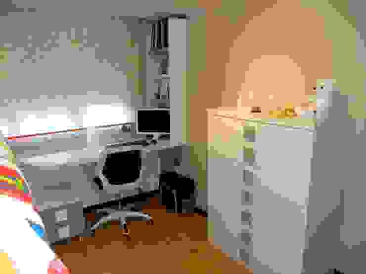 Habitación Juvenil cama tren. Dormitorios infantiles modernos de LA ALCOBA Moderno