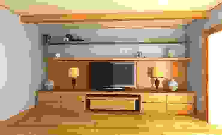 Гостиная для семьи из двух человек Гостиная в средиземноморском стиле от Андреева Валентина Средиземноморский