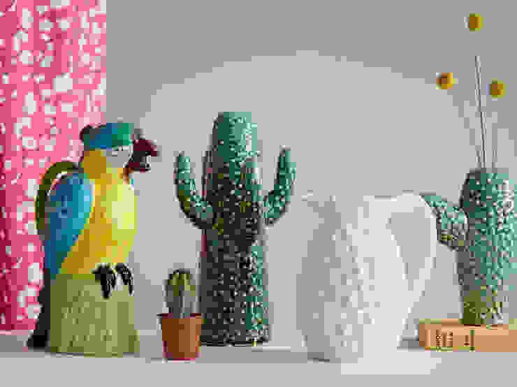 Ceramic Cactus Vases rigby & mac Living roomAccessories & decoration