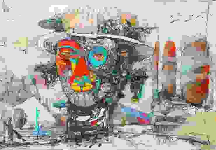 World of another Tomorrow 15 od Filip Kurzewski Nowoczesny