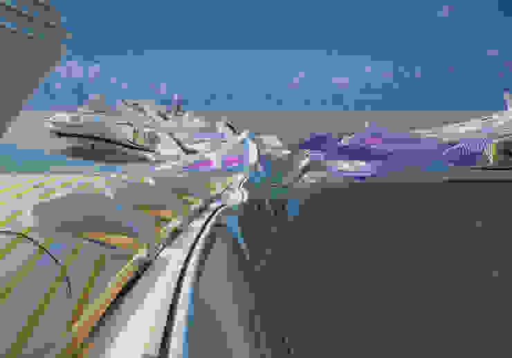 THREE SPIRITS DESIGN - view6 Nowoczesne jachty i motorówki od Filip Kurzewski Nowoczesny
