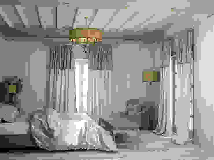 спальня Спальня в стиле кантри от Eclectic DesignStudio Кантри