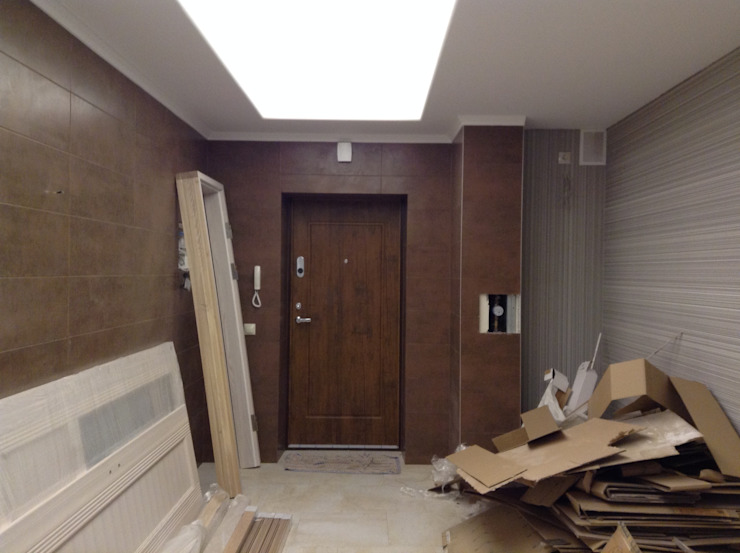 квартира для энергичной семьи из пяти человек. Коридор, прихожая и лестница в классическом стиле от Андреева Валентина Классический