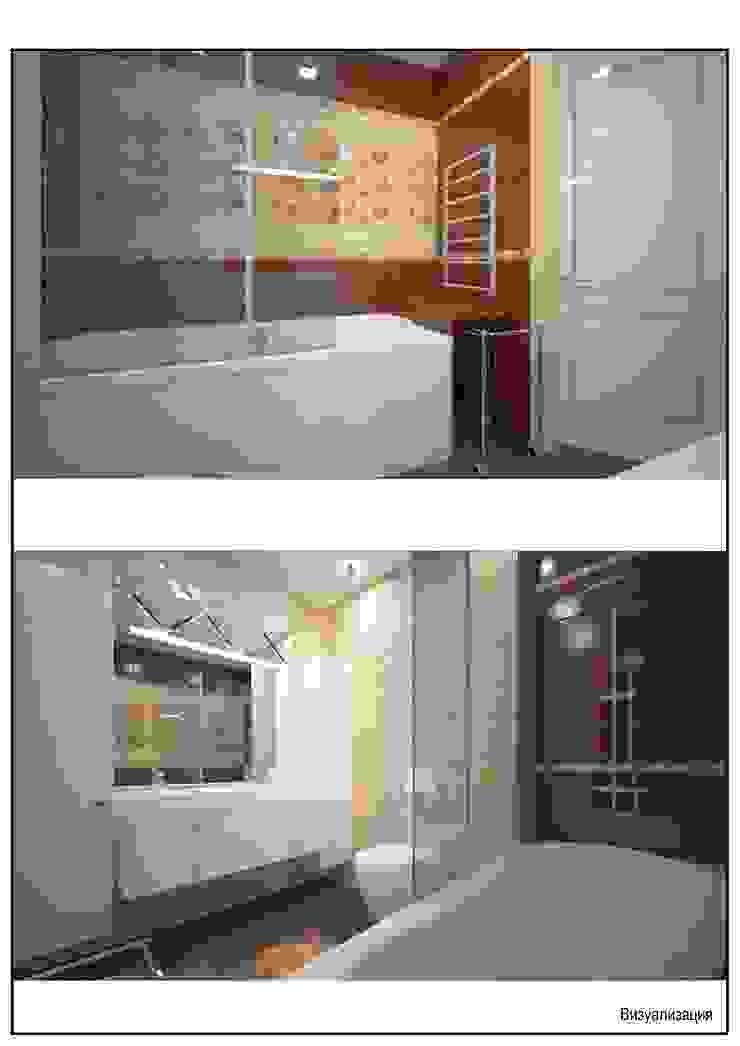 квартира для энергичной семьи из пяти человек. Ванная в классическом стиле от Андреева Валентина Классический