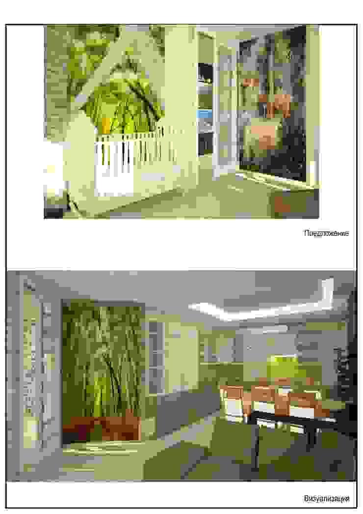 квартира для энергичной семьи из пяти человек. Гостиная в классическом стиле от Андреева Валентина Классический