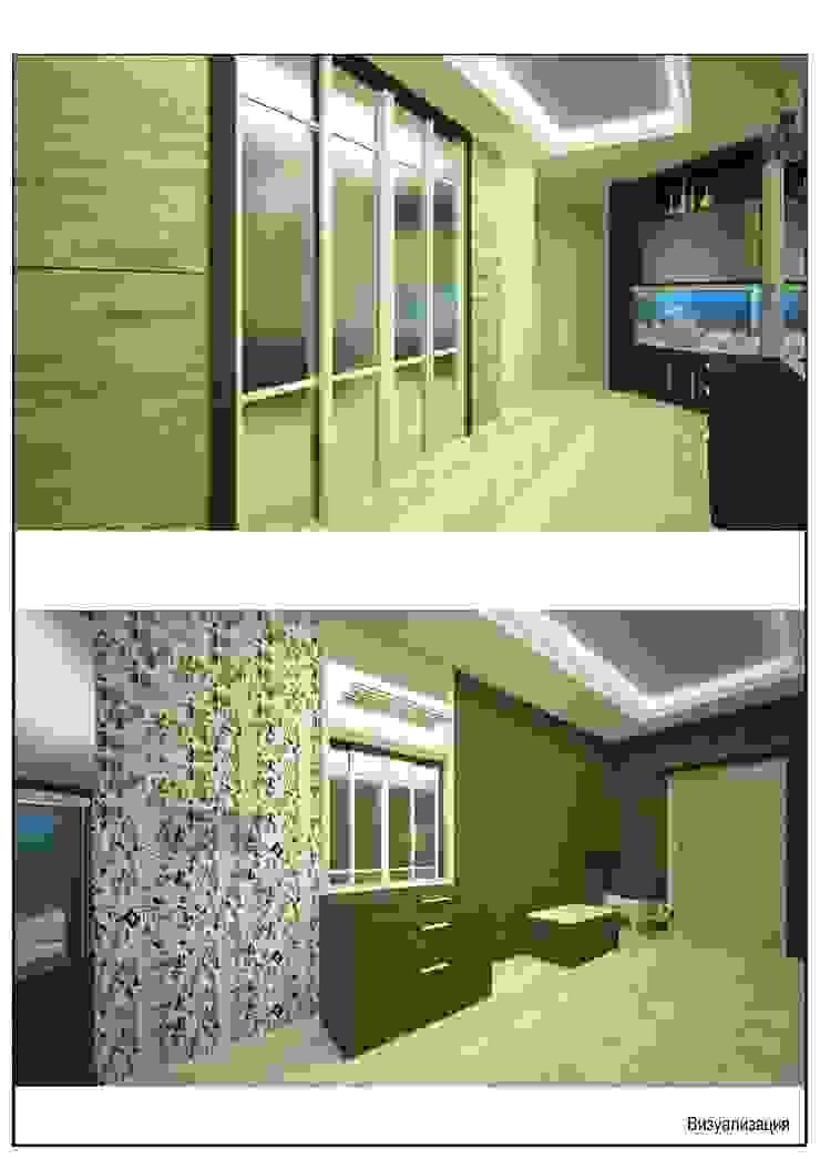 Андреева Валентина 經典風格的走廊,走廊和樓梯