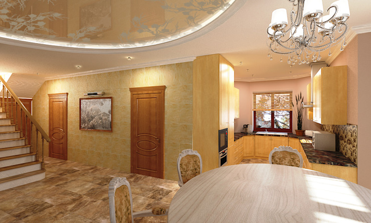 Андреева Валентина Classic style dining room