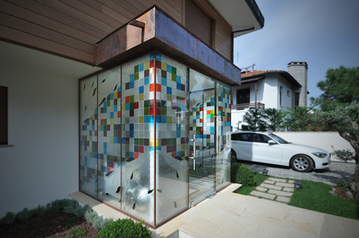 Giriş Rüzgarlık Modern Evler Emrah Yasuk Modern