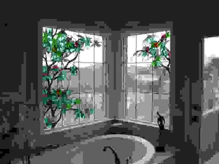 ВИТРАЖИ И РАБОТА СО СТЕКЛОМ Ванная в классическом стиле от Абрикос Классический