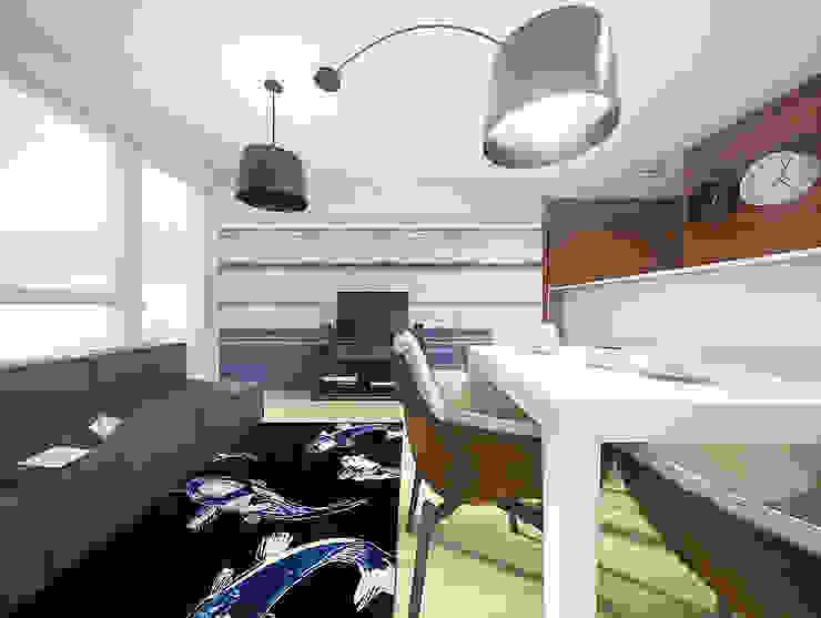 Modern Living Room by HUK atelier Modern