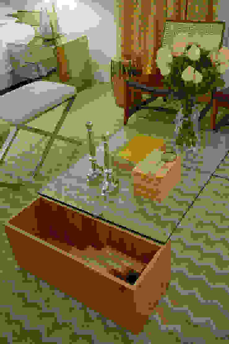 Suíte Neoluxo Salas de estar ecléticas por Johnny Thomsen Arquitetura e Design Eclético