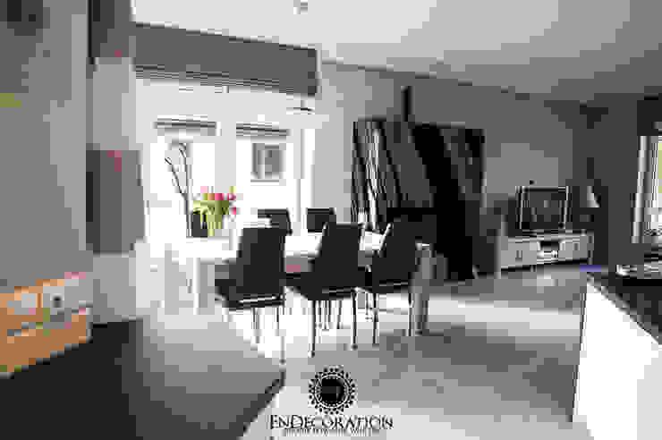 Dom pod Białymstokiem. : styl , w kategorii Jadalnia zaprojektowany przez EnDecoration