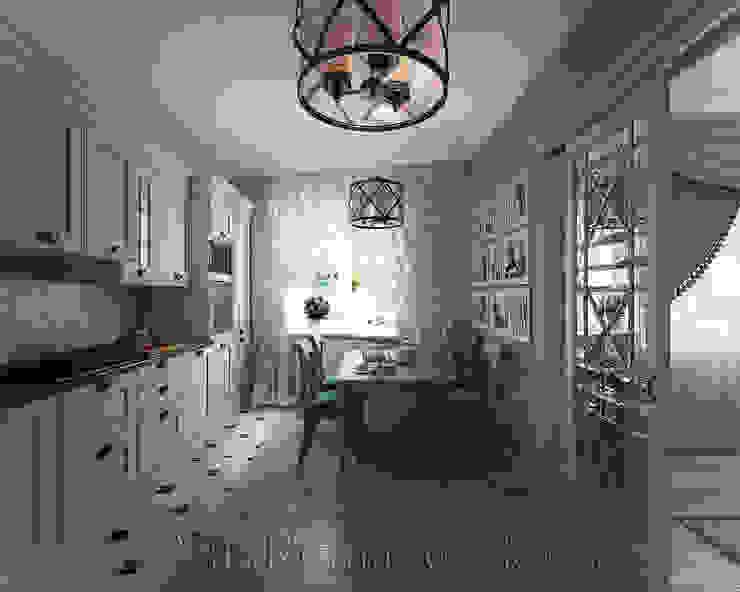 Московский Прованс Кухня в классическом стиле от студия Виталии Романовской Классический