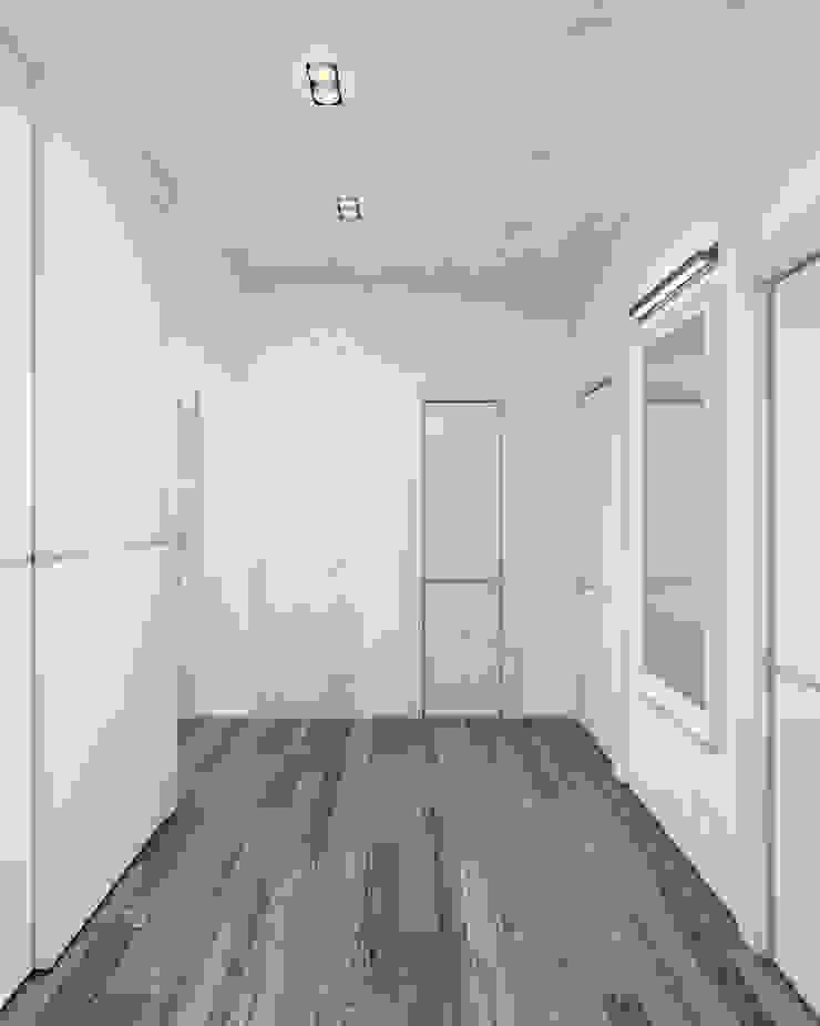 душевая&прихожая Коридор, прихожая и лестница в стиле минимализм от Eclectic DesignStudio Минимализм